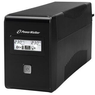 BlueWalker PowerWalker VI 650 LCD Schuko, USB