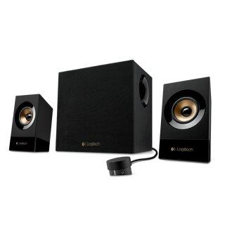 Logitech Z533 2.1 Sound System, schwarz, Lautsprecher, Boxen