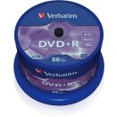 Verbatim DVD+R 4.7 GB 16x, 50er Spindel