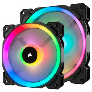 Corsair LL140 RGB, LL Series, PWM Lüfter 140 mm