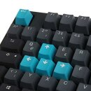Ducky ONE 2 TKL Skyline PBT Gaming Tastatur MX-Black - grau - Tastatur - Schwarz
