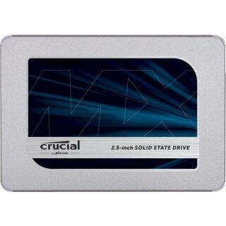 "Crucial MX500 1 TB, SATA 2.5"" (6.4cm)"