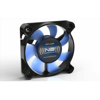 Noiseblocker XS-2 BlackSilentFan  50 x 50 x 10 mm Gehäuselüfter, Lüfter, Kühler