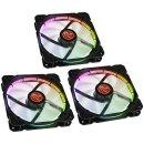 Raijintek Auras 14 RGB, 3er-Pack, 140 mm
