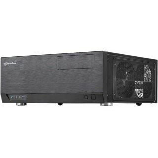 SilverStone Grandia GD09B schwarz (SST-GD09B) Desktop Gehäuse