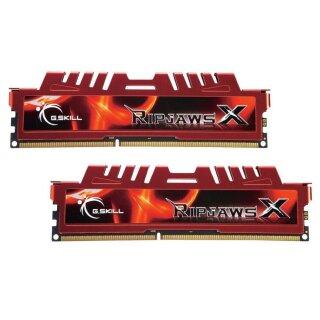 G.Skill RipJawsX rot DIMM Kit 16GB, DDR3-1600