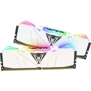 Patriot Viper RGB weiß DIMM Kit 16GB, DDR4-3200