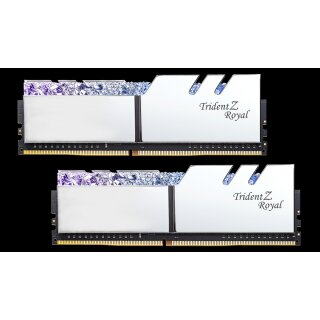G.Skill Trident Z Royal silber DIMM Kit 16 GB, DDR4-4266
