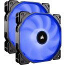 Corsair Air Series LED Blue AF140 2018, 140mm, 2er-Pack...