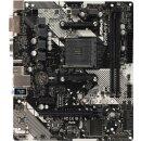 ASRock B450M-HDV R4.0 Mainboard AMD B450 Chipsatz