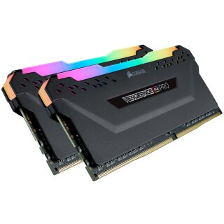 Corsair Vengeance RGB PRO schwarz Kit 32 GB, DDR4-3333, CL16