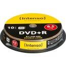 Intenso DVD+R 8.5 GB DL 8x, 10er Spindel