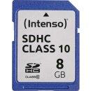Intenso R20/W12 SDHC 8 GB, Class 10