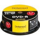 Intenso DVD-R 4.7 GB 16x, 25er Spindel bedruckbar