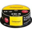 Intenso CD-R 80min/700 MB 52x, 25er Spindel