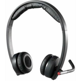 Logitech H820e Wireless Headset Dual  Schwarz