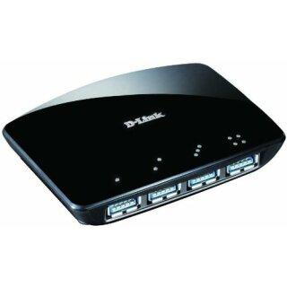 D-Link DUB-1340 4 Port USB 3.0 Hub