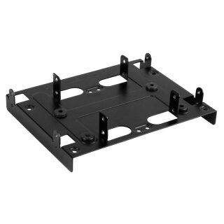 """Sharkoon SSD Montage- Einbaurahmen für 13,3 cm (5,25"""") HDD, schwarz"""
