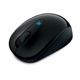 Microsoft Sculpt Mobile Mouse schnurlos schwarz