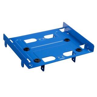 """Sharkoon SSD Montage- Einbaurahmen für 13,3 cm (5,25"""") HDD, blau"""