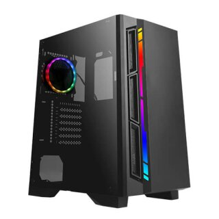 Antec NX400, Midi-Tower, tempered Glass