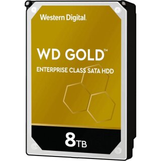 """Western Digital WD Gold 8 TB, 512e, SATA 6Gb/s, 3.5"""" (8,9 cm)"""