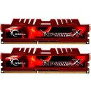 G.Skill RipJawsX rot Kit 16 GB, DDR3-1866, CL10