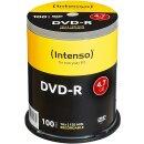 Intenso DVD-R 4.7GB 16x, 100er Spindel