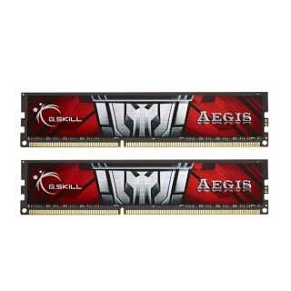 G.Skill Aegis Kit 8 GB, DDR3-1600, CL11