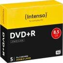 Intenso DVD+R 8.5 GB DL 8x, 5er Jewelcase