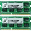 G.Skill SL Series SO-DIMM Kit 8 GB, DDR3L-1600, CL9