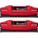 G.Skill RipJaws V rot Kit 8 GB, DDR4-2133, CL15