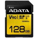 ADATA Premier ONE R290/W260 SDXC 128 GB, UHS-II U3, Class 10