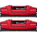 G.Skill RipJaws V rot Kit 16 GB, DDR4-2666, CL15 DDR4 RAM...