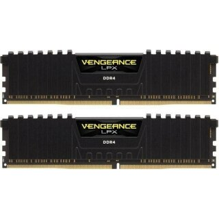 Corsair Vengeance LPX schwarz Kit 16 GB, DDR4-2933, CL16