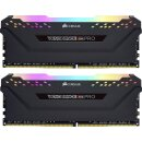 Corsair Vengeance RGB PRO schwarz 16 GB Kit, DDR4-3200, CL16