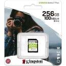 Kingston Canvas Select Plus R100/W85 SDXC 256 GB, UHS-I...