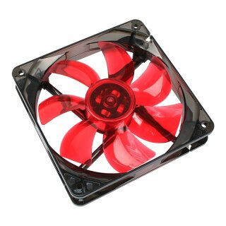 Cooltek Silent Fan 120 Red LED - Lüfter