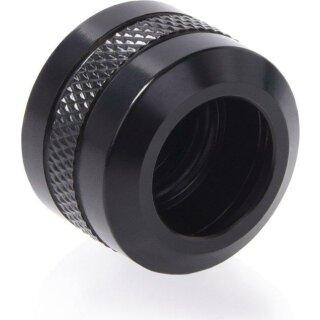 Alphacool Eiszapfen PRO 13mm HardTube Fitting G1/4 - Deep Black