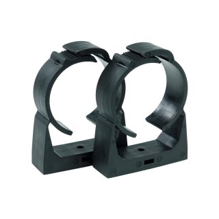 Alphacool AGB Universal Halterung Clip-On 50mm - Schwarz 2 Stück