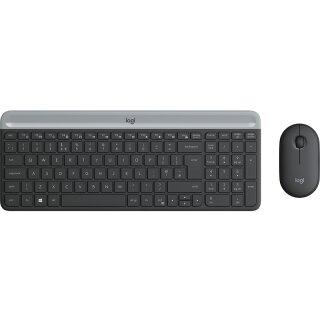 Logitech MK470 Slim Wireless Tastatur und Maus