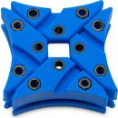 EK Water Blocks EK-Vardar X3M Dämpfer - 4er-Pack, blau