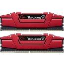 G.Skill RipJaws V rot Kit 16 GB, DDR4-3200, CL14