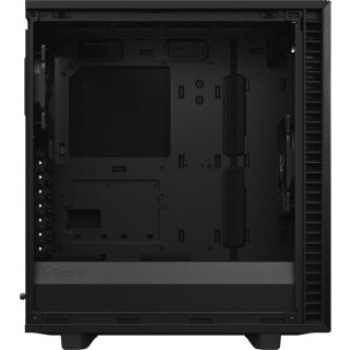 Fractal Design Define 7 Compact Light, Tempered Glass, schwarz