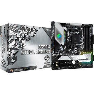 ASRock B550M Steel Legend µATX Mainboard
