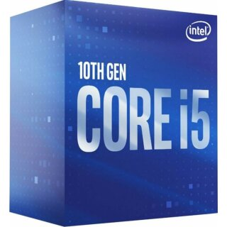 Intel i5-10600, 6x 3.30GHz, boxed CPU