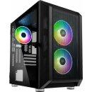 Kolink Citadel Mesh RGB Micro-ATX Gehäuse - schwarz