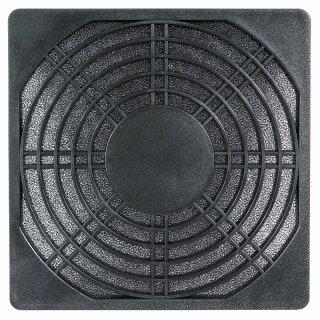 Staubfilter 80 mm Kunststoff,schwarz Staubfilterkassette