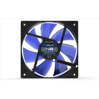 Noiseblocker XL-2 BlackSilent Fan, 120 mm Silent Lüfter, Geräuscharmer Kühler