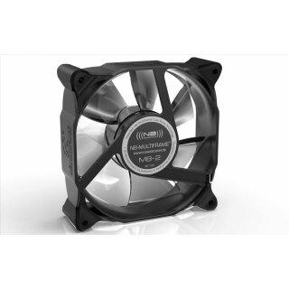 Noiseblocker M8-1 NB-Multiframe Lüfter, 80 mm, geräuscharmer Slient Kühler, FAN